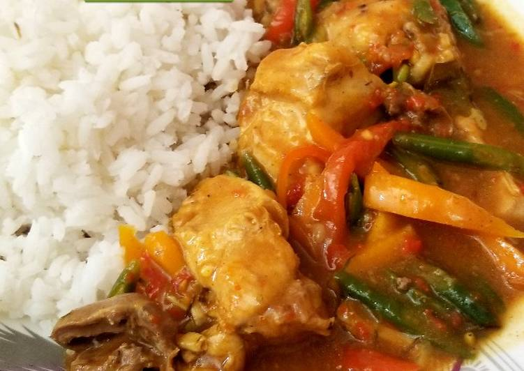 Curry chicken.. Finding Healthy Fast Food