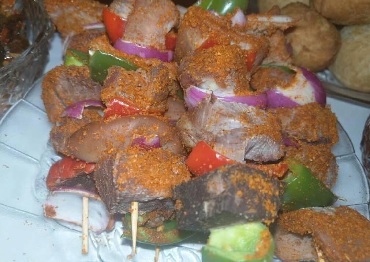Steps to Prepare Favorite Meat kebbab