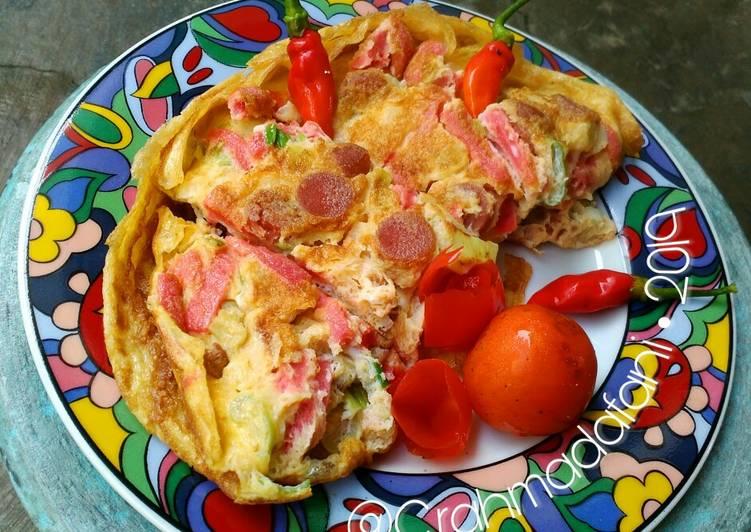 Omelet Dadar Kornet