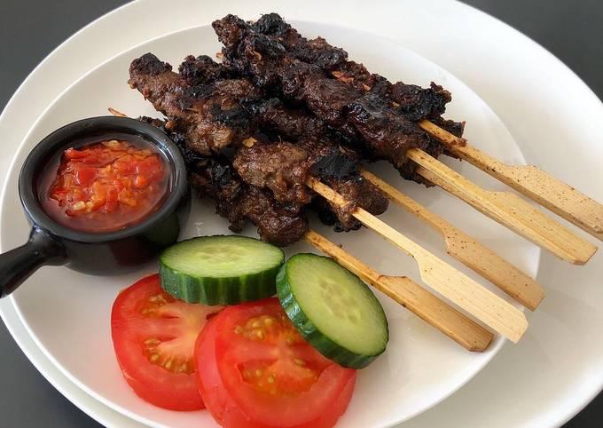 Sate Maranggi - Indonesian Beef Satay