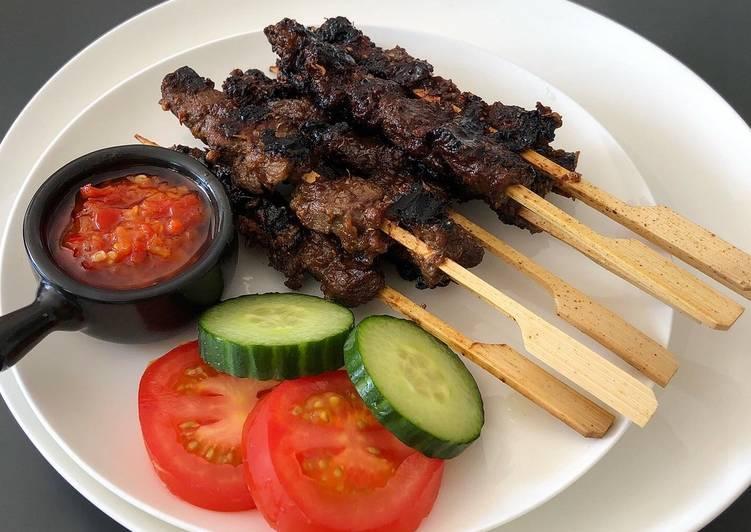Recipe of Most Popular Sate Maranggi - Indonesian Beef Satay