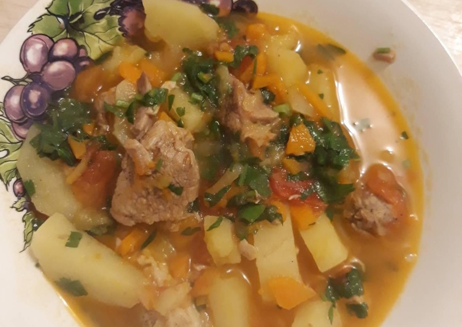 Рецепты суп с мясом в картинках криштиану отвел