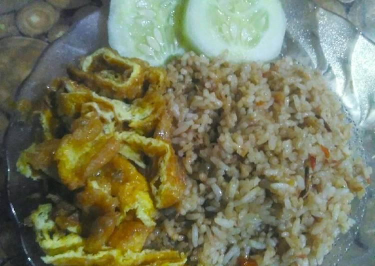 Kreasi nasi goreng.Nasgor kesehatan.nasi goreng jahe enak simpel