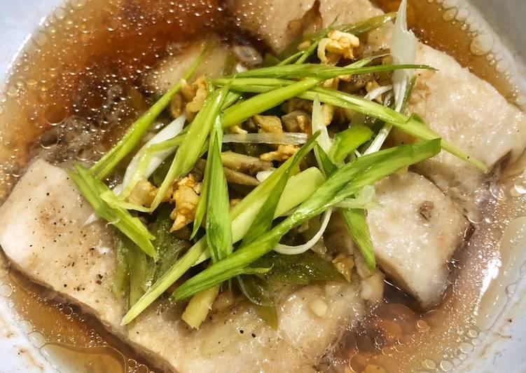Steam dori fish