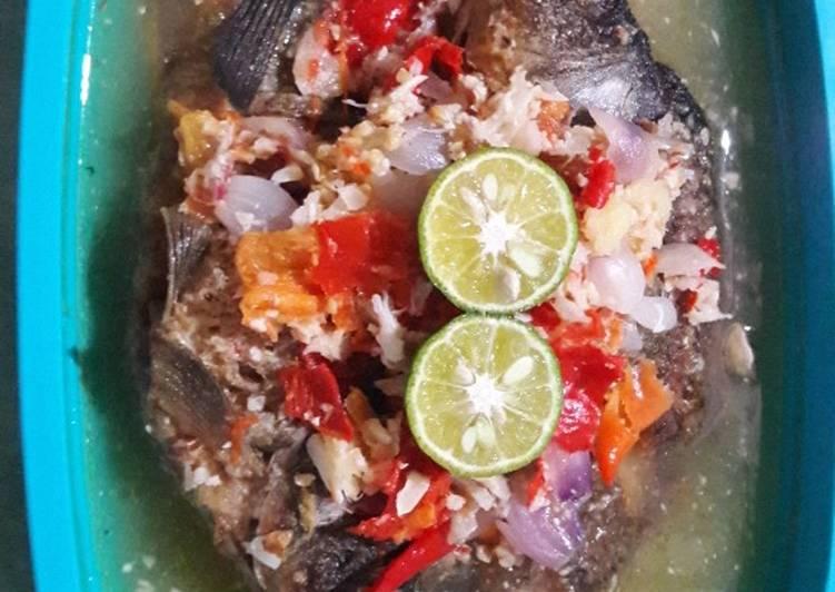 Cocobek ikan mas