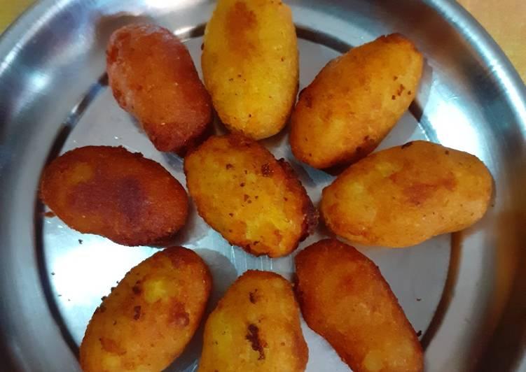 Paneer potato nuggets