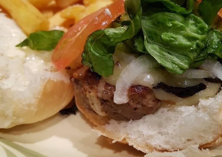 1st go homemade burger
