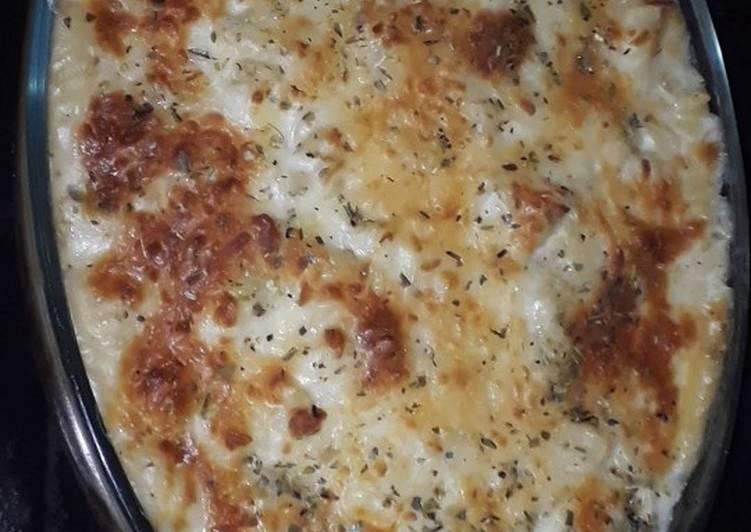 Baked Bechamel Pasta