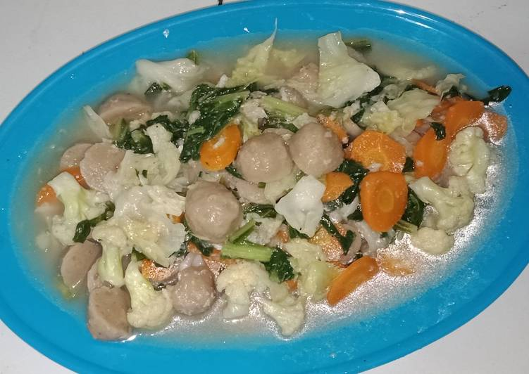 Capcay Sayur Simple