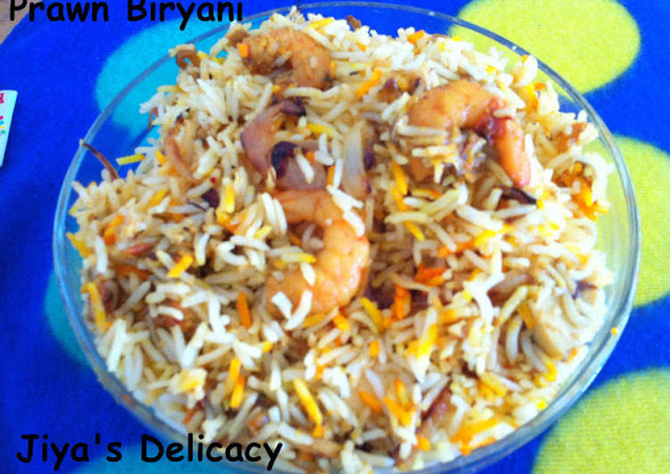 Recipe of Ultimate Prawn biryani