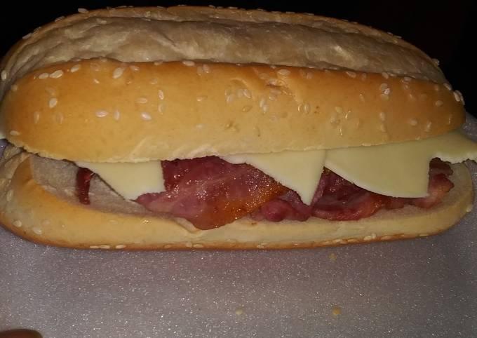 Bacon Ranch Provolone Sandwich