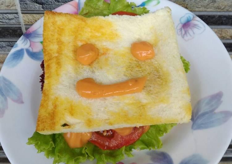 Resep Sandwich simple ala paon ugi Top