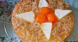 Hình ảnh món Bánh bông lan chà bông trứng muối