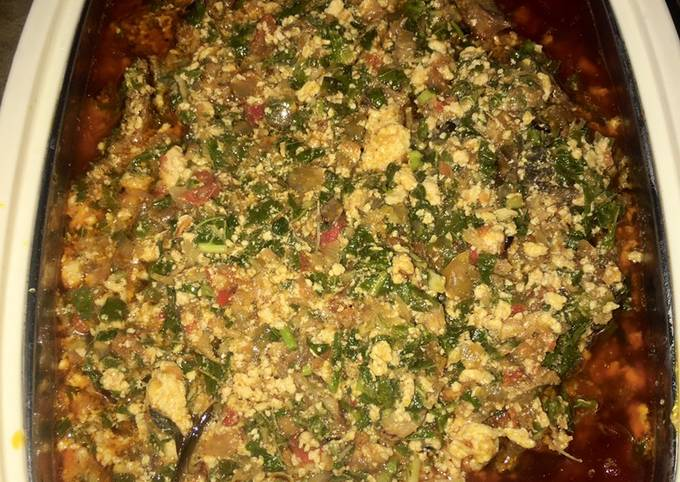 How to Cook Appetizing Egusi soup recipe II🍽