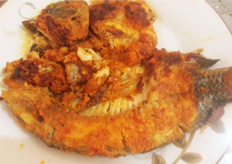Ikan panggang pedas