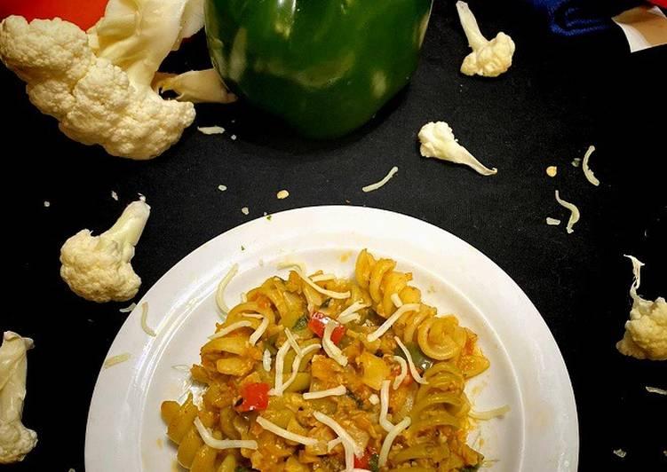 Avadhi Cauliflower Bolognese