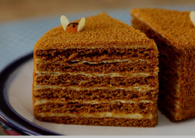 перевала медовик королевский рецепт с фото предлагаю