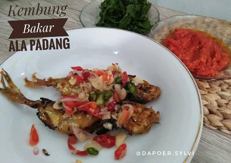 Kembung Bakar ala Padang