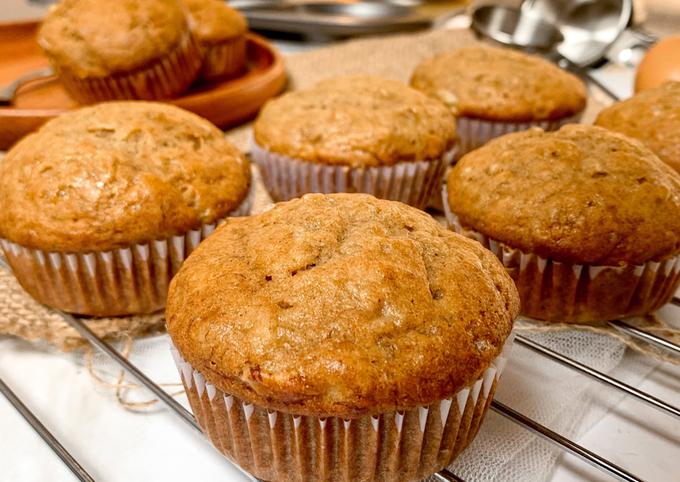 Banana Muffin - Sehat dan Mudah!
