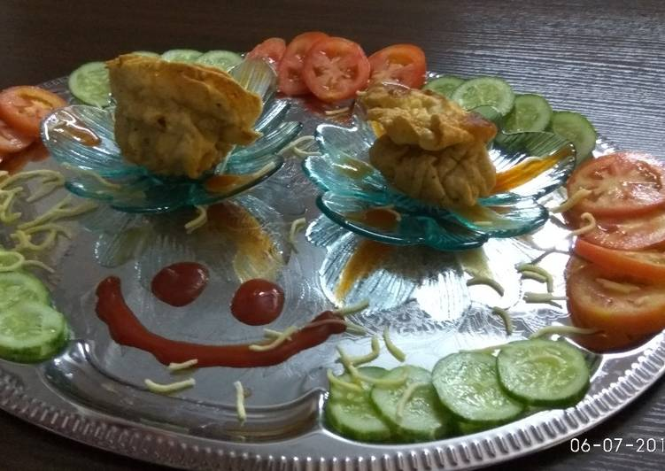 Easiest Way to Make Super Quick Homemade Pouch main dhamaka with salad