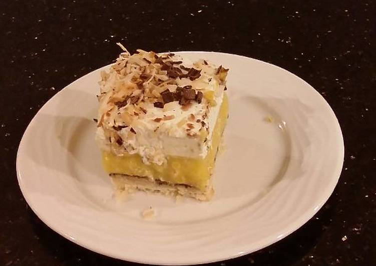 Living Greener for Greater Health By Eating Superfoods Coconut Cream Pie Bars