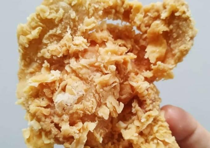 Kulit Ayam Goreng Tepung Krispi Awet Berhari-hari Renyahnya