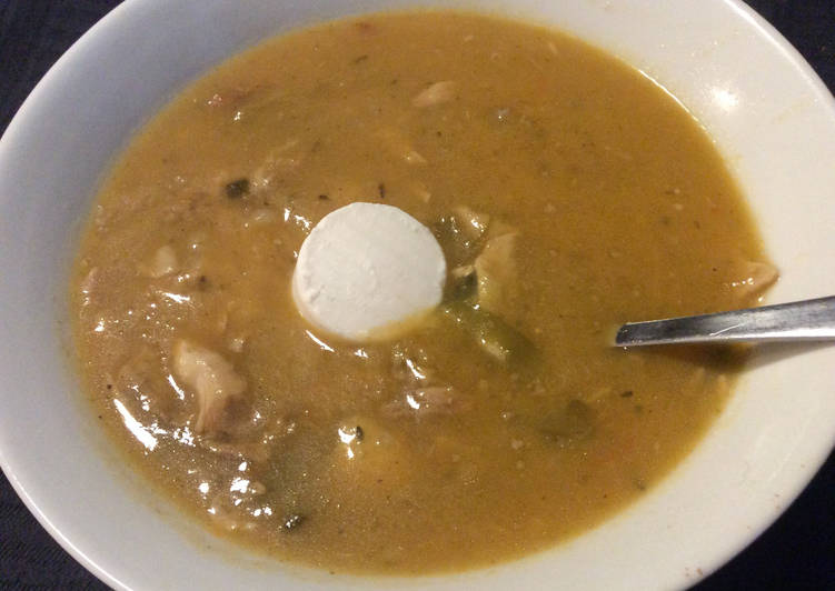 La Délicieuse Recette du Soupe de légumes au poulet