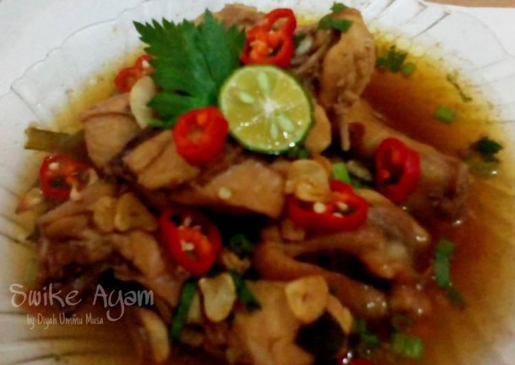 Swike Ayam | Ayam Kuah Tauco