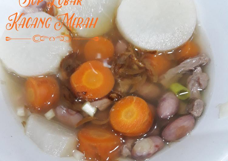 Sup Lobak Kacang Merah