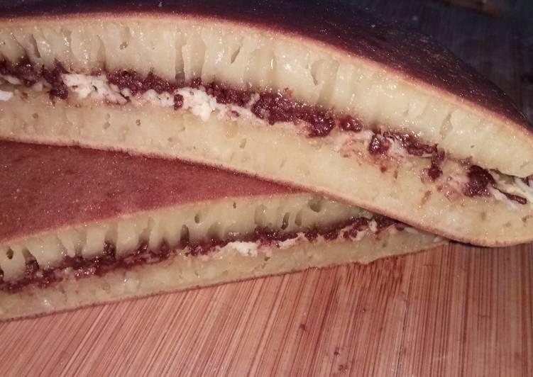 Martabak Bangka Homemade (Pakai Teflon) Anti Gagal