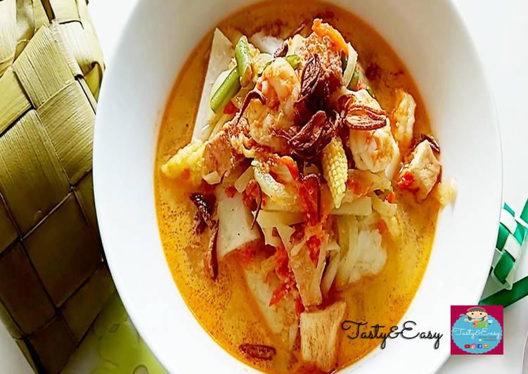 Resep Sayur Ketupat Spesial untuk LEBARAN #01 😁👌🎊🎉