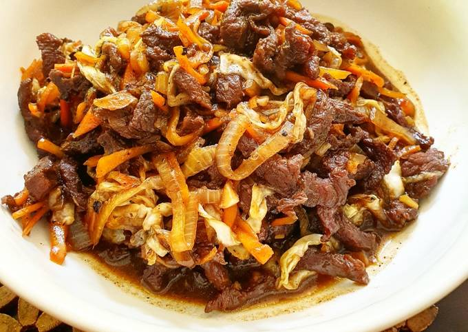 Stir Fried Beef With Vegetables - projectfootsteps.org