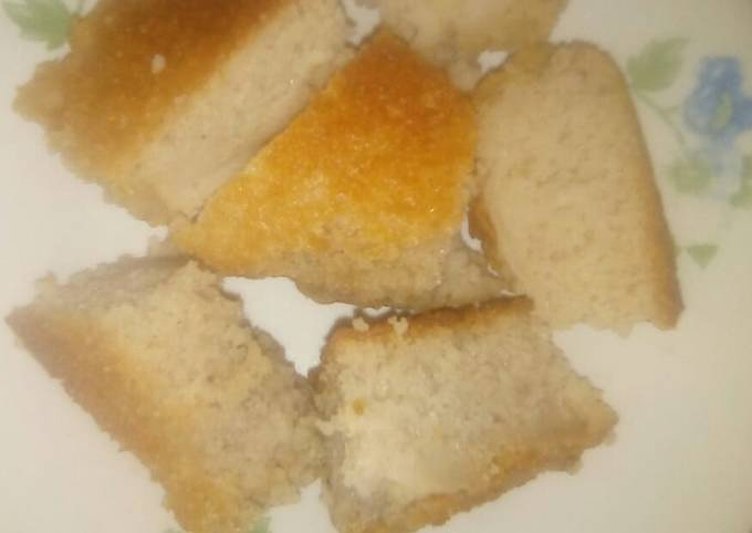Mkate wa Sinia(Rice Cake)