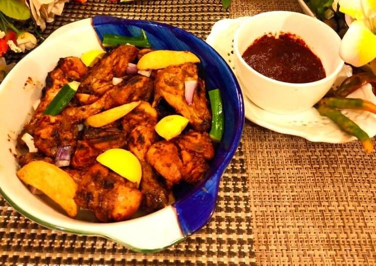 Step-by-Step Guide to Prepare Homemade Nando's style peri peri chicken