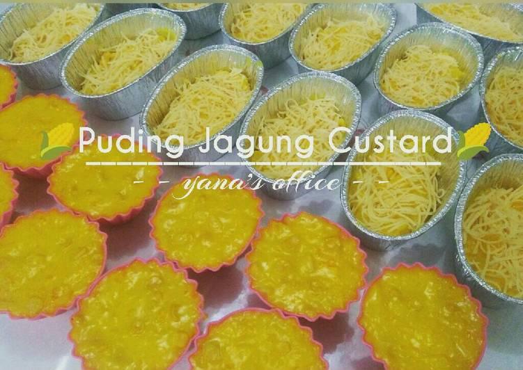 Puding Jagung Custard Yana