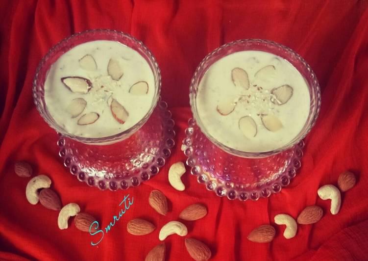 Recipe of Perfect Basundi