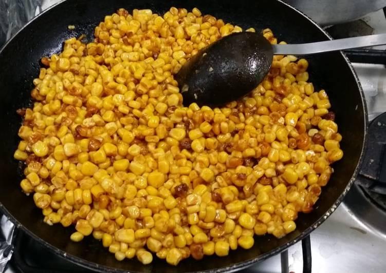 Recipe of Award-winning Butter Corn/Bhutta