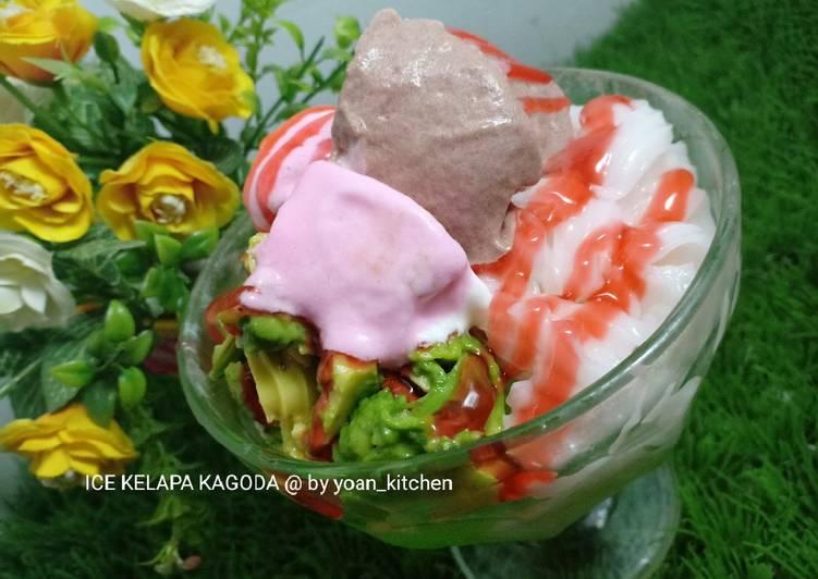 Ice kelapa Kagoda by yoan kitchen