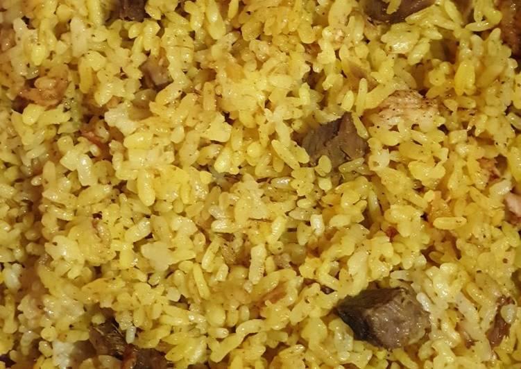 Nasi Kebuli Magicom - cookandrecipe.com