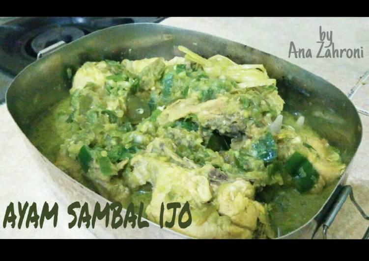Ayam Sambal ijo Simple