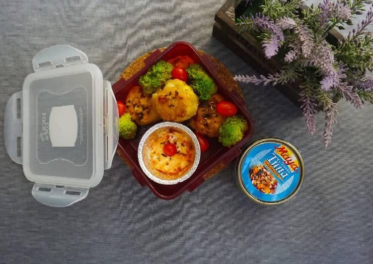 12. Perkedel jagung isi tuna