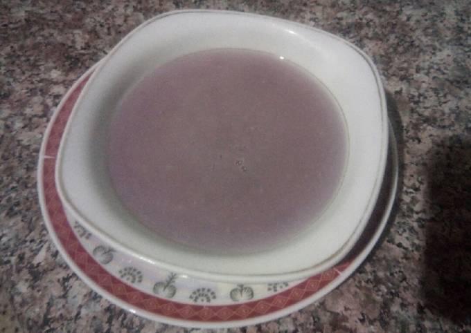 Soupe de radis