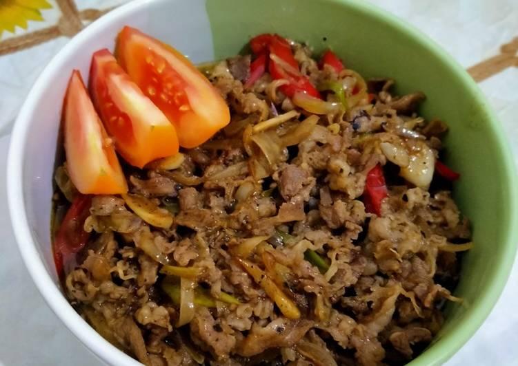 Langkah Mudah untuk Menyiapkan Beef Belly Lada Hitam Anti Gagal