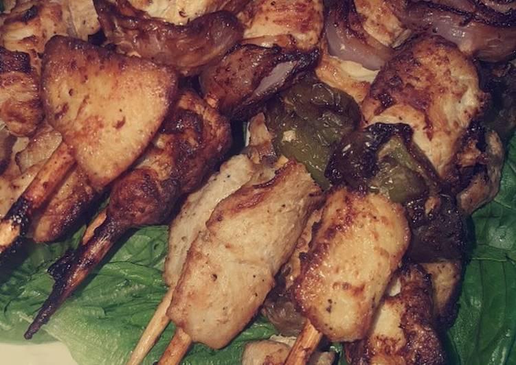 تكة الدجاج المقلية🍢🍢