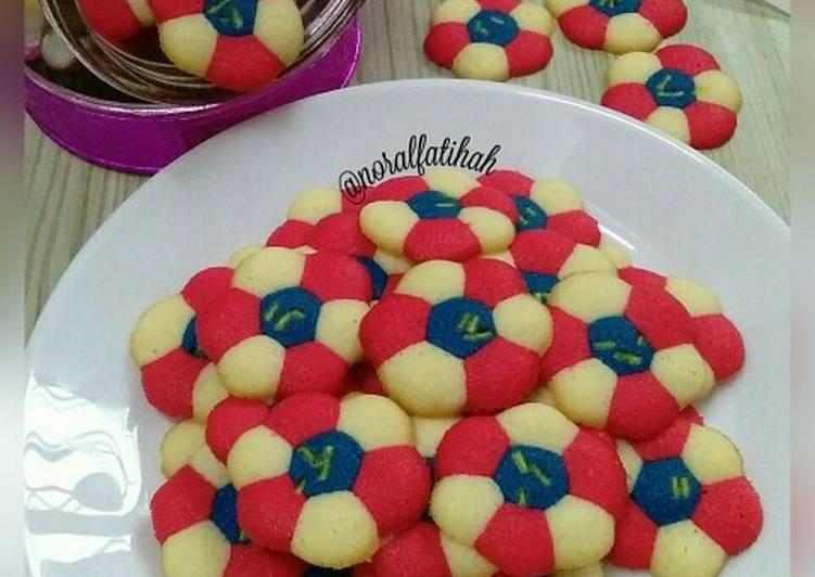 Rainbow Cookies Jalur Gemilang (Bendera Malaysia)