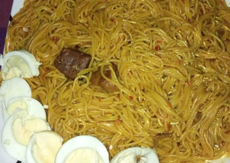 Recipe of Award-winning Spaghetti jollof