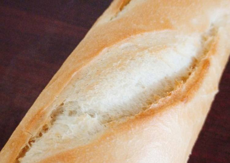 How to Make Award-winning Easy baguette using a bread machine or a stand mixer