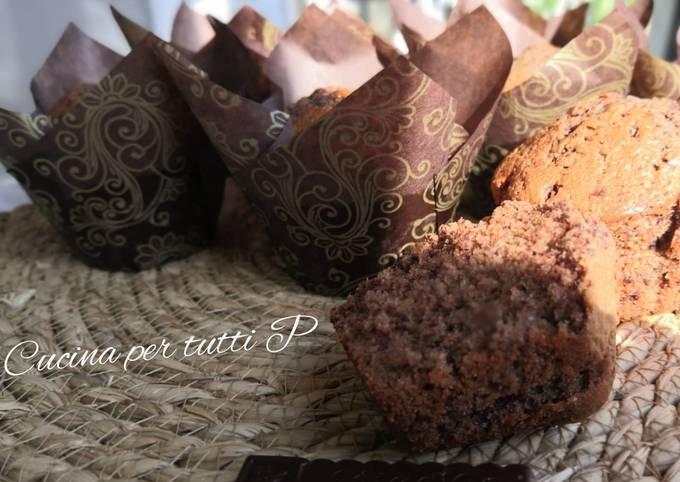 Muffins chocolat moelleux rapide et facile