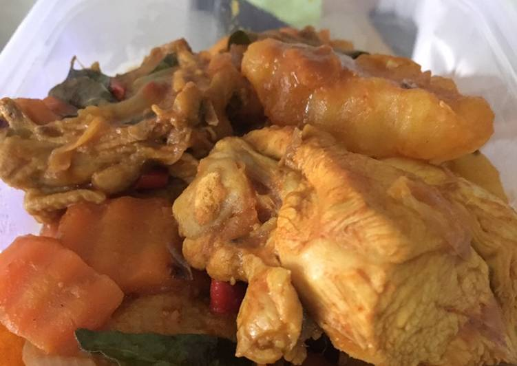 Healthy Chicken Curry Finding Nutritious Fast Food