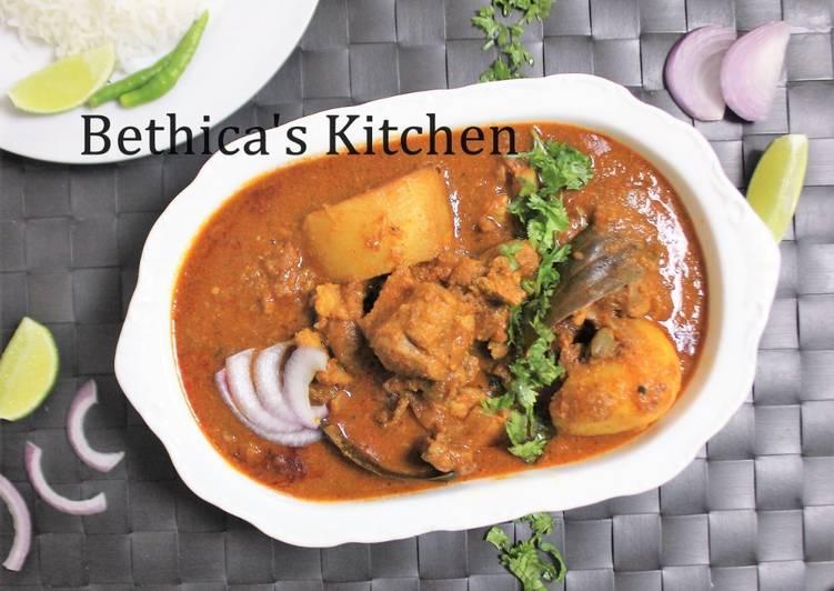 Recipe of Homemade Mangshor Korma (Bengali Mutton Curry)